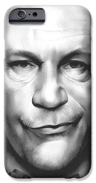 John Malkovich IPhone Case by Greg Joens
