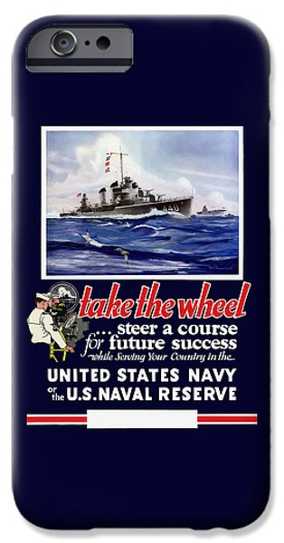 Join The Us Navy - Ww2 IPhone Case by War Is Hell Store