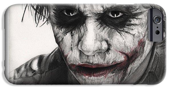 Joker Face IPhone 6s Case by James Holko
