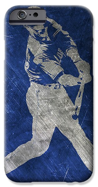 Josh Donaldson Toronto Blue Jays Art IPhone Case by Joe Hamilton