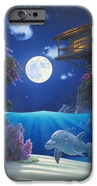 Journey In Paradise IPhone Case by Al Hogue