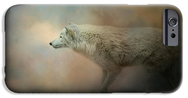 Journey Of The Timber Wolf IPhone Case by Jai Johnson