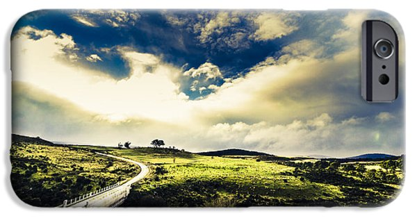 Journey Through Hills And Valleys IPhone Case by Jorgo Photography - Wall Art Gallery
