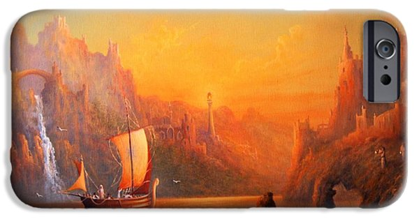 Journey To The Undying Lands IPhone 6s Case by Joe  Gilronan
