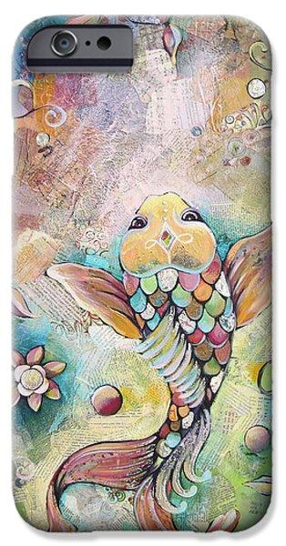 Joyful Koi II IPhone 6s Case by Shadia Derbyshire