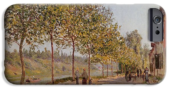 June Morning In Saint Mammes IPhone Case by Alfred Sisley