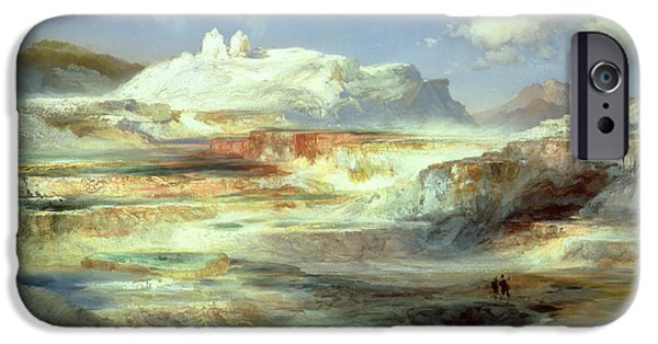 Jupiter Terrace IPhone Case by Thomas Moran