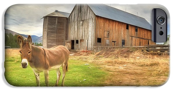 Just Another Day On The Farm IPhone 6s Case by Donna Kennedy