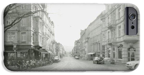 Kaiser Joseph Strasse In Freiburg IPhone Case by Marcio Faustino