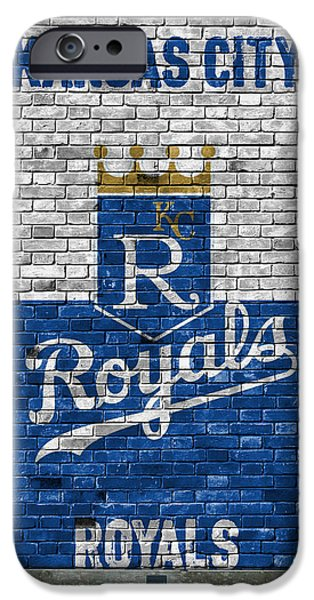 Kansas City Royals Brick Wall IPhone Case by Joe Hamilton