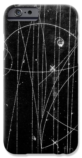 Kaon Proton Collision IPhone Case by SPL and Photo Researchers