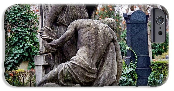 Kerepesi Cemetery, Budapest 1 IPhone Case by Vladi Alon