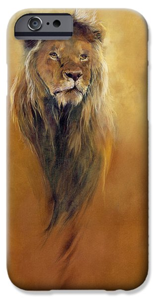 King Leo IPhone 6s Case by Odile Kidd