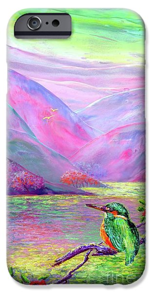 Kingfisher, Shimmering Streams IPhone 6s Case by Jane Small