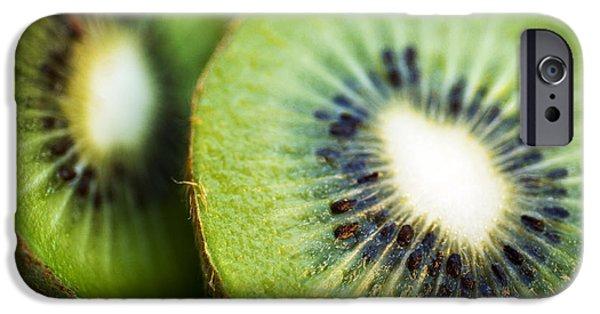 Kiwi Fruit Halves IPhone 6s Case by Ray Laskowitz - Printscapes