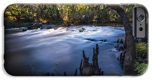 Knees In The Rapids IPhone Case by Marvin Spates