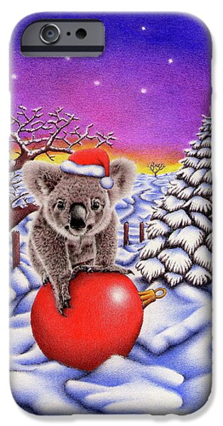 Koala On Christmas Ball IPhone 6s Case by Remrov