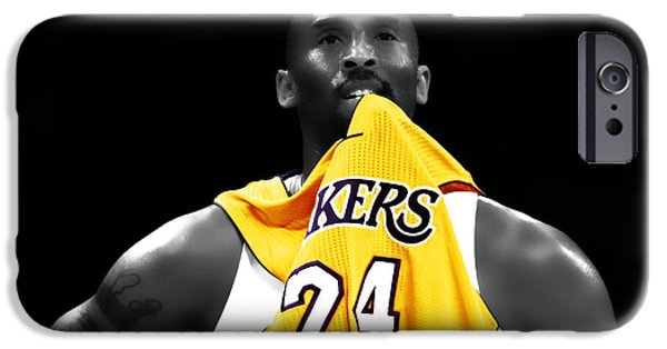 Kobe Bryant 04c IPhone Case by Brian Reaves