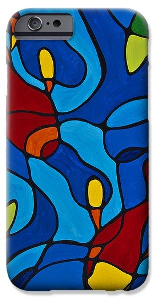 Koi Fish IPhone Case by Sharon Cummings