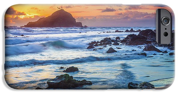 Koki Beach Harmony IPhone Case by Inge Johnsson