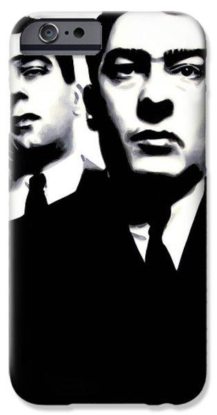 Kray Twins IPhone Case by Luis Ludzska