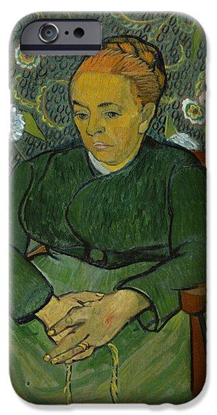La Berceuse Portrait Of Madame Roulin IPhone Case by Vincent van Gogh