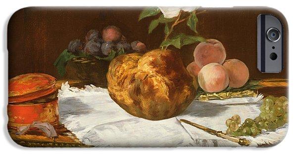 La Brioche IPhone Case by Edouard Manet