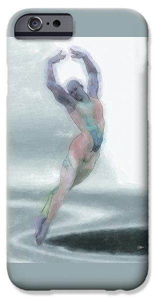 La Danza Fantasma IPhone Case by Quim Abella