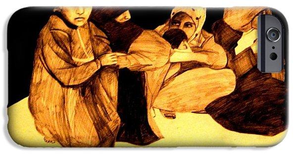 La It Khafeen Habibti IPhone Case by MB Dallocchio