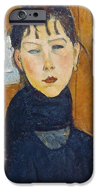 La Petite Marie IPhone Case by Amedeo Modigliani