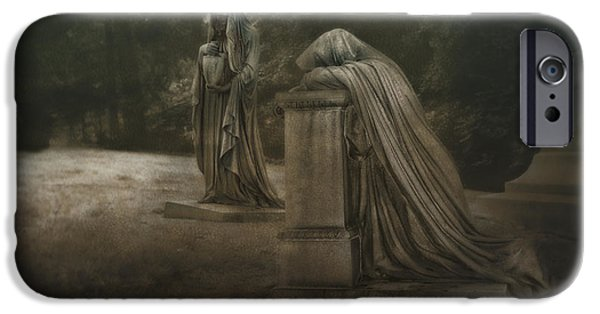 Ladies Of Eternal Sorrow IPhone Case by Tom Mc Nemar