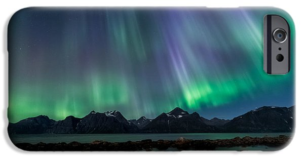 Lady Of The Night IPhone Case by Tor-Ivar Naess