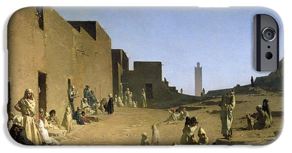 Laghouat In The Algerian Sahara IPhone Case by Gustave Caillebotte