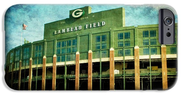 Lalalalala Lambeau IPhone Case by Joel Witmeyer