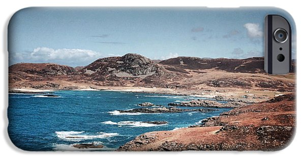Land On The Edge Of The World - Ardnamurchan #5 IPhone Case by Kate Morton