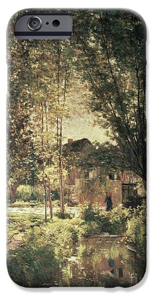 Landscape IPhone Case by Charles Francois Daubigny