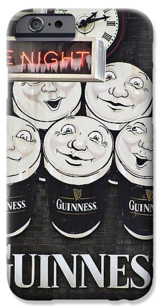 Late Night Guinness Limerick Ireland IPhone Case by Teresa Mucha