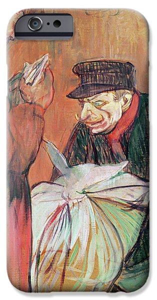 Le Blanchisseur De La Maison, 1894 IPhone Case by Henri de Toulouse-Lautrec