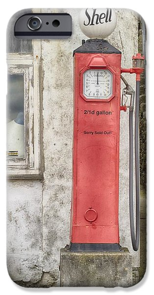Leaning With Time IPhone Case by Linsey Williams