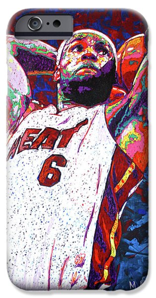 Lebron Dunk IPhone 6s Case by Maria Arango