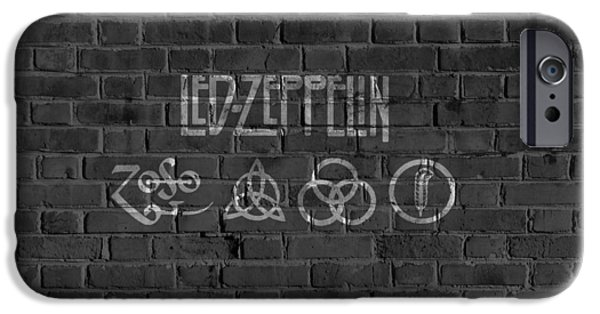 Led Zeppelin Brick Wall IPhone 6s Case by Dan Sproul