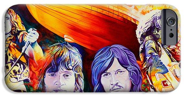 Led Zeppelin IPhone Case by Joshua Morton