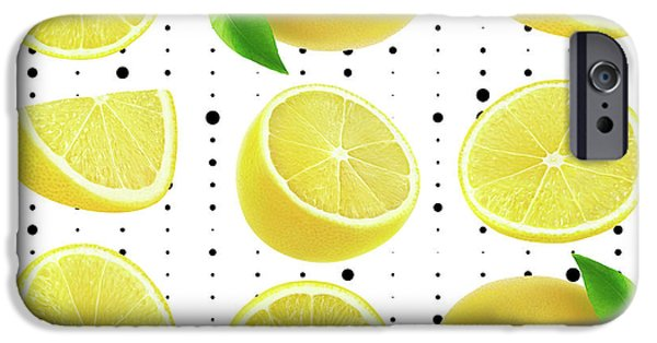 Lemon  IPhone 6s Case by Mark Ashkenazi