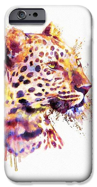 Leopard Head IPhone 6s Case by Marian Voicu