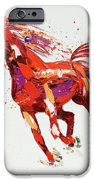 L'espirit IPhone Case by Penny Warden