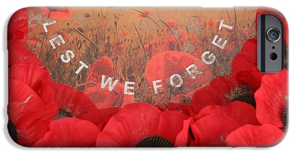 IPhone 6s Case featuring the photograph Lest We Forget - 1914-1918 by Travel Pics