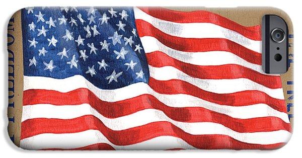 Let Freedom Ring IPhone Case by Debbie DeWitt