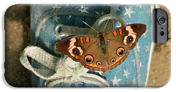 Let Your Spirit Fly Free- Butterfly Nature Art IPhone Case by Robyn King