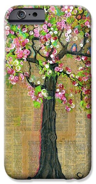 Lexicon Tree Of Life 4 IPhone 6s Case by Blenda Studio
