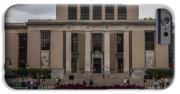 Library At Penn State University  IPhone 6s Case by John McGraw